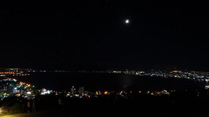 諏訪の夜景