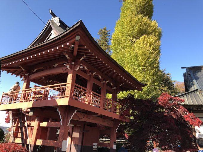 長円寺と紅葉と銀杏