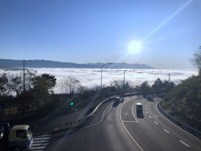 諏訪地域の雲海