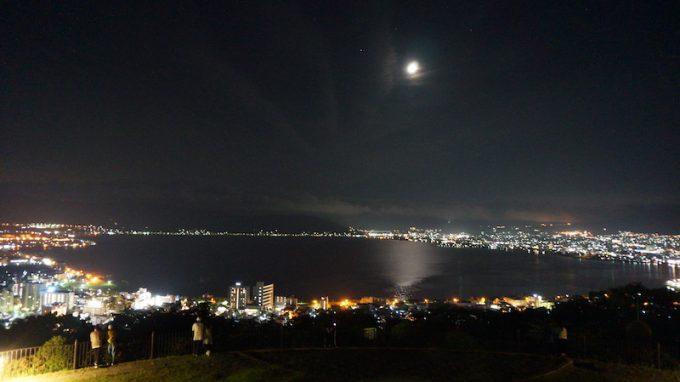 立石公園からみる夜景